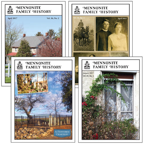 Mennonite Family History Magazine Subscription
