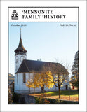 Mennonite Family History October 2020
