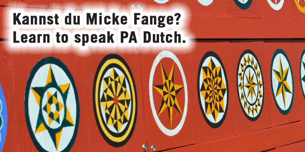 speak pennsylvania dutch