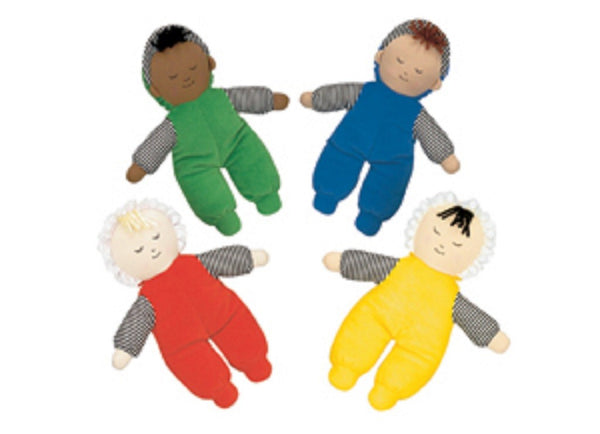 Children's Factory Baby's First Doll - Set of 4 Multi-Ethnic