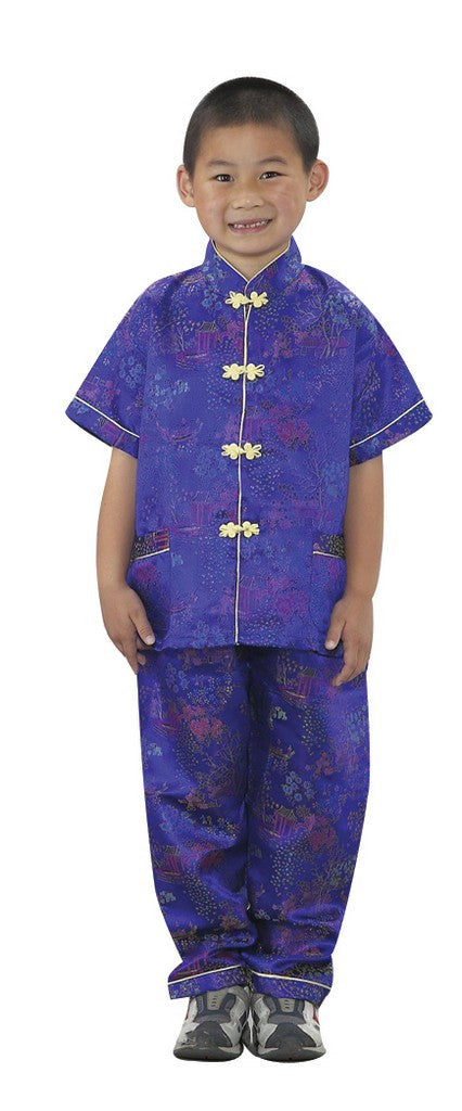 Asian Boy Costume - Children's Soft Play