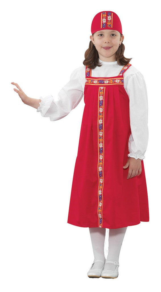 Children's Factory Russian Girl Costume