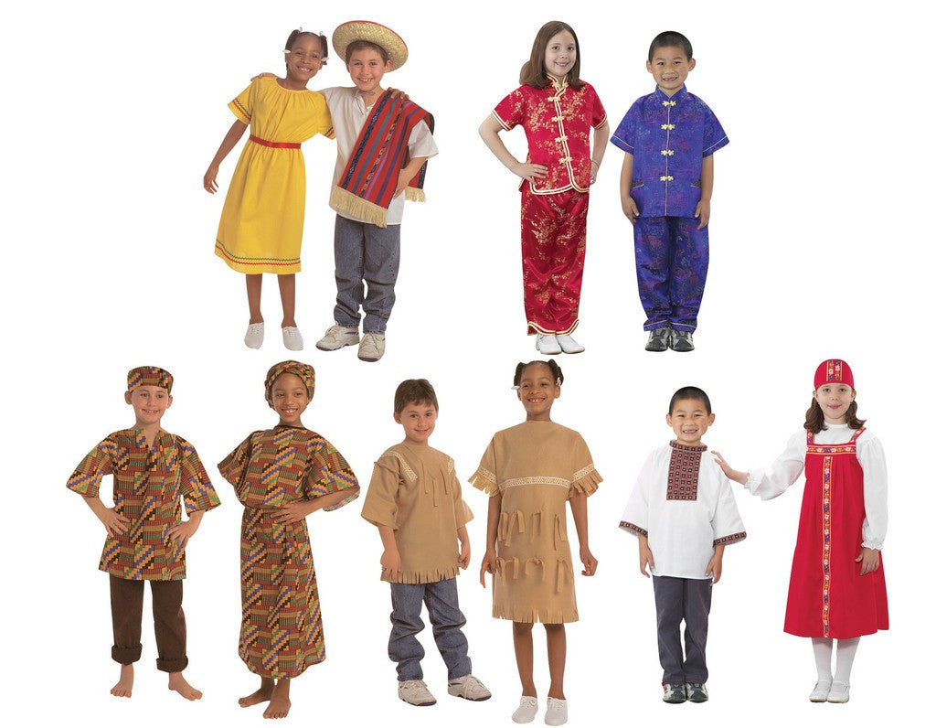 Children's Factory International Costumes, Set of 10