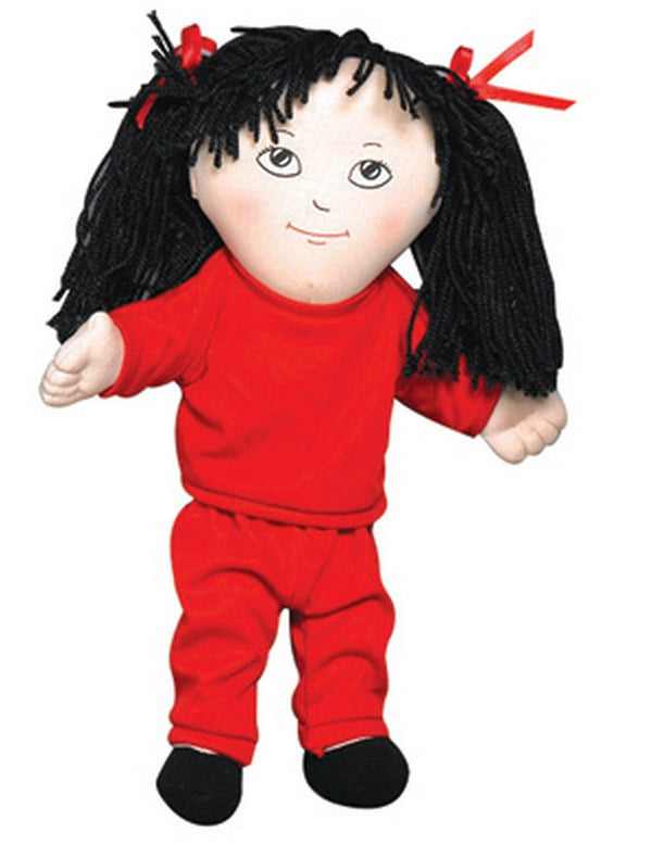 Children's Factory Sweat Suit Doll - Asian Girl