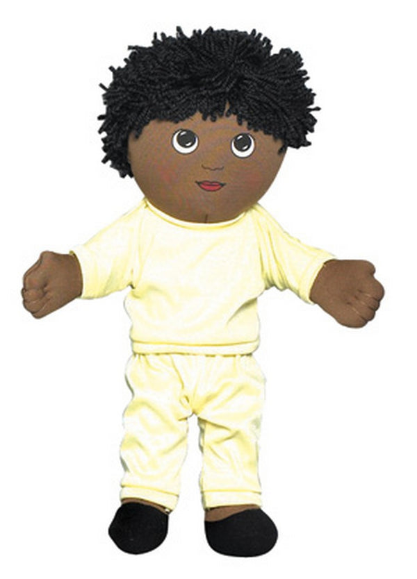 Children's Factory Sweat Suit Doll - African American Boy