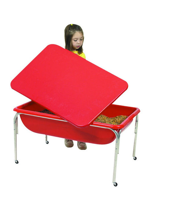 "Large Sensory Table and Lid Set - 18""h"