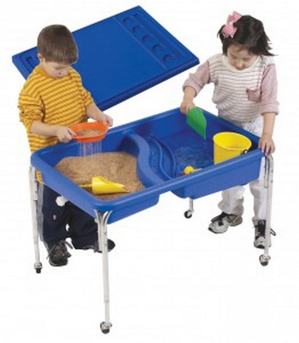 "Children's Factory Neptune Table and Lid Set - 24""h"