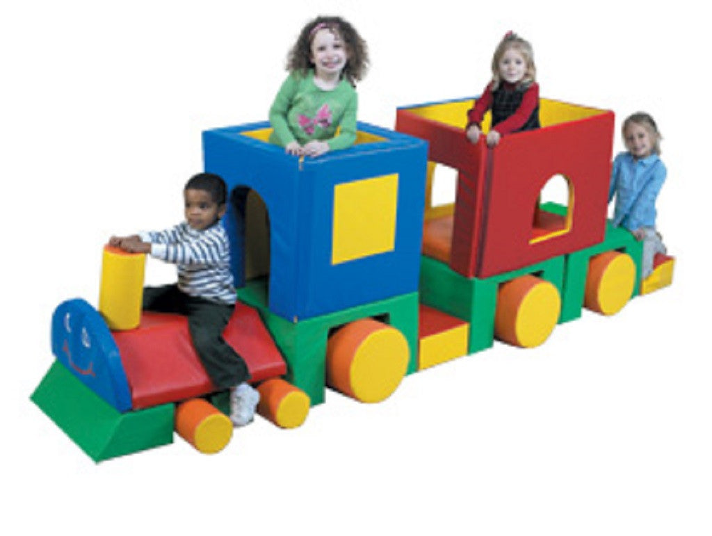 Children's Factory Little Train with Caboose