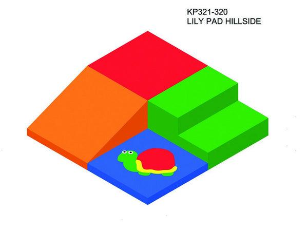 Lily Pad Hillside - Children's Soft Play