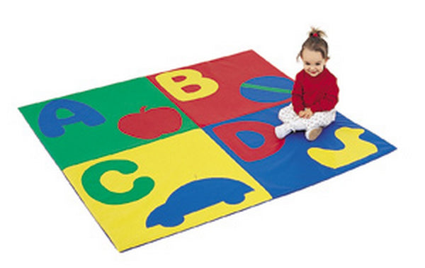 "ABC Crawly Mat - Primary 48"" Square"