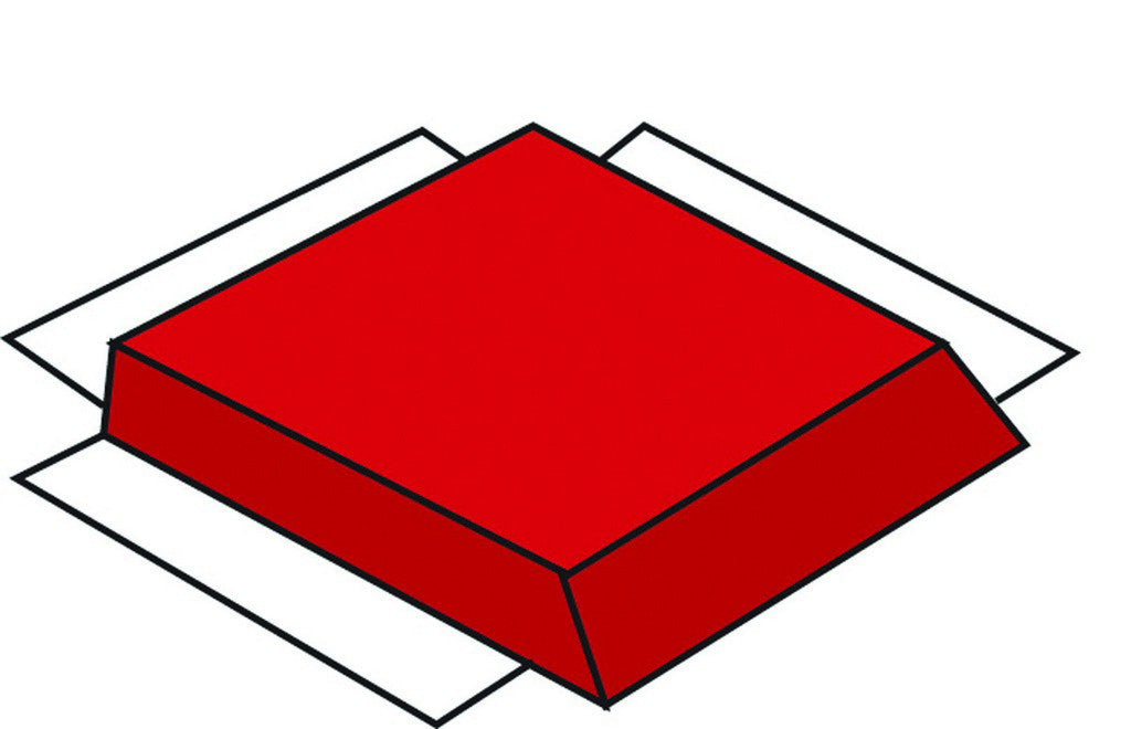 Children's Factory Modular Mat - Red Side CF321-550