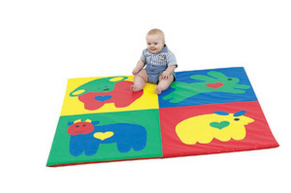 Baby Love Activity Mat - Primary Colors