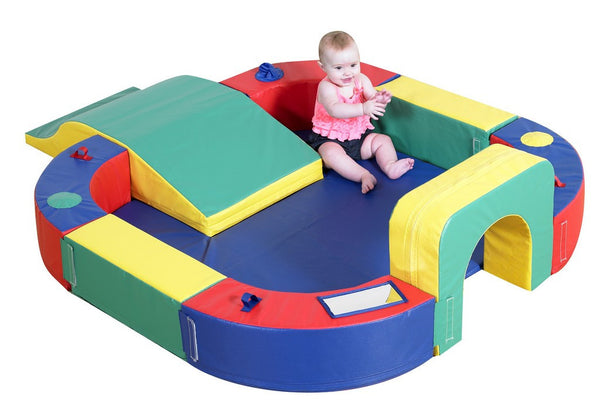 Playring w/ Tunnel and Slide - Children's Soft Play