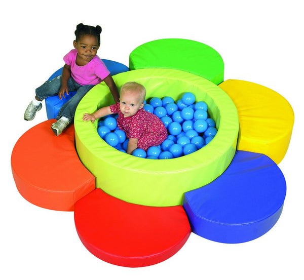 Flower Petal Ball Pool and 130 balls