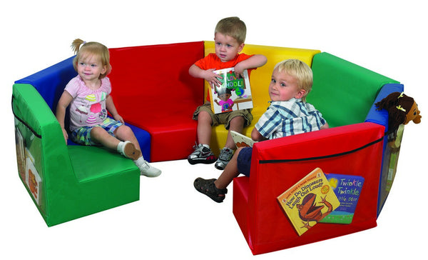 Children's Factory Modular Seating - 7 Piece