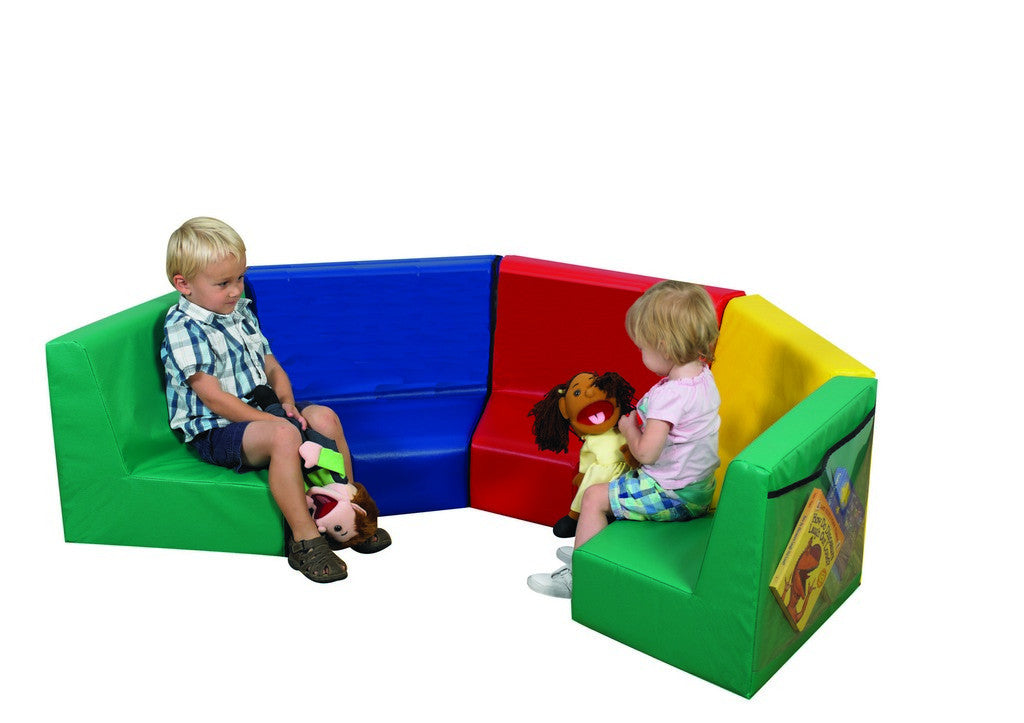 Children's Factory Modular Seating - 5 Piece