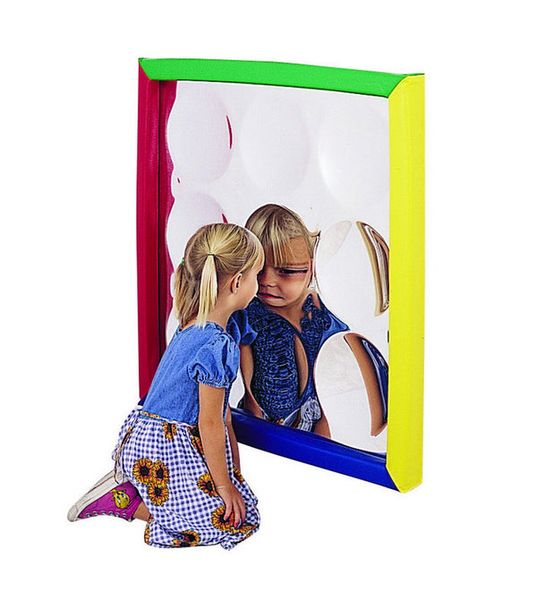 Children's Factory Soft Frame Concave Bubble Mirror