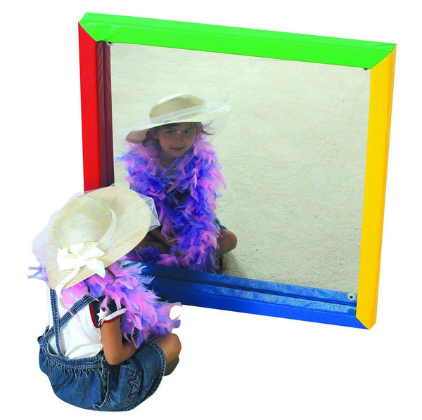 Children's Factory Soft Frame Flat Mirror