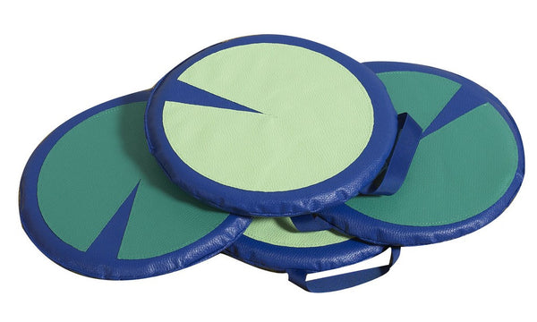 Children's Factory Lily Pad Sit Upons - Set of 4