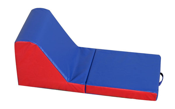 Children's Factory Cozy Time Lounger - Blue/Red