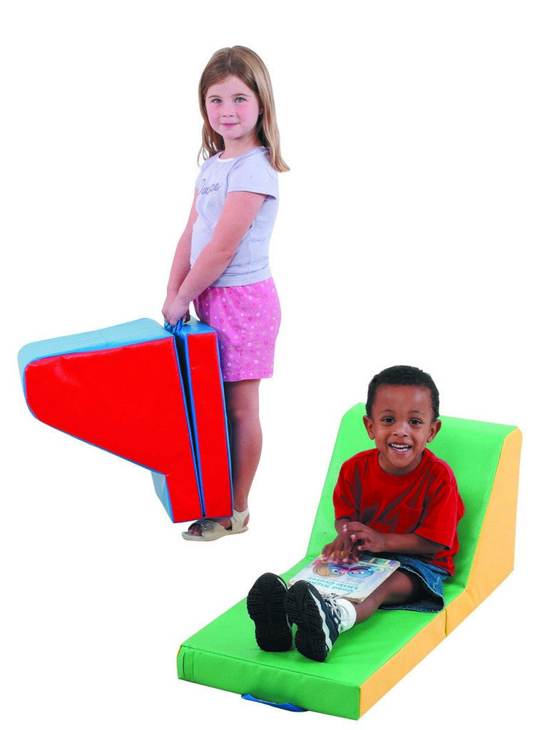 Children's Factory Cozy Time Loungers - Set of 2