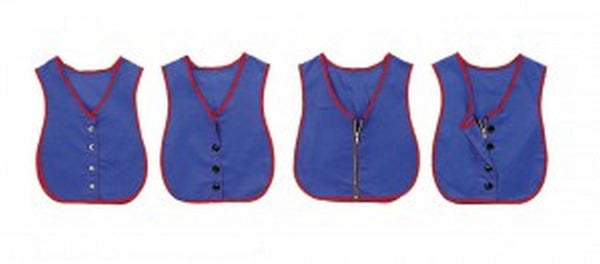 Children's Factory Manual Dexterity Learning Vests - Set of 4