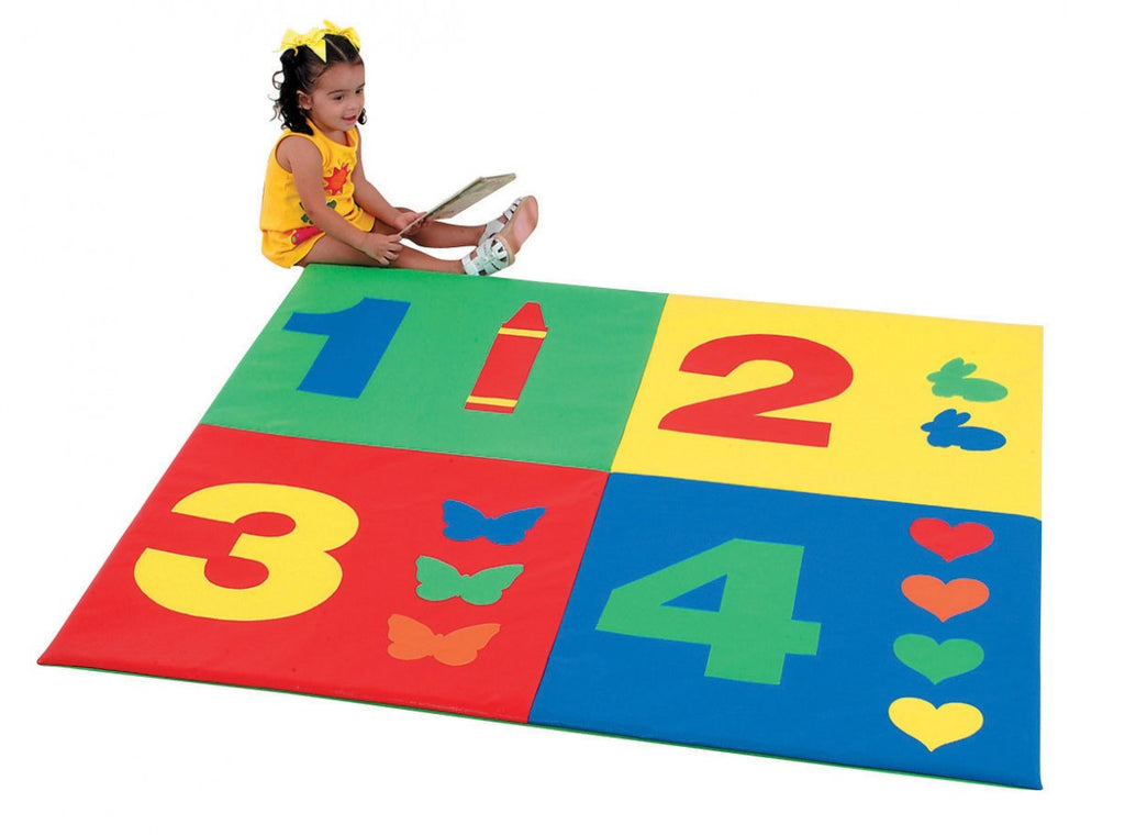 1-2-3-4 Mat,   early number recognition