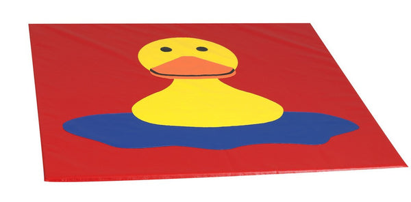 Children's Factory Happy Duck Mat