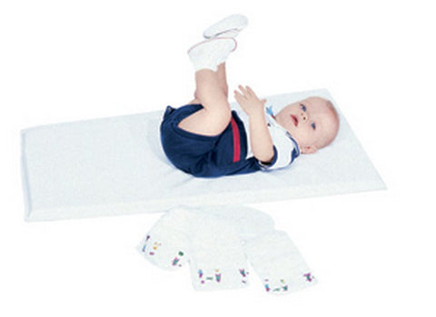 Children's Factory Infection Control White Changing Pad - Single