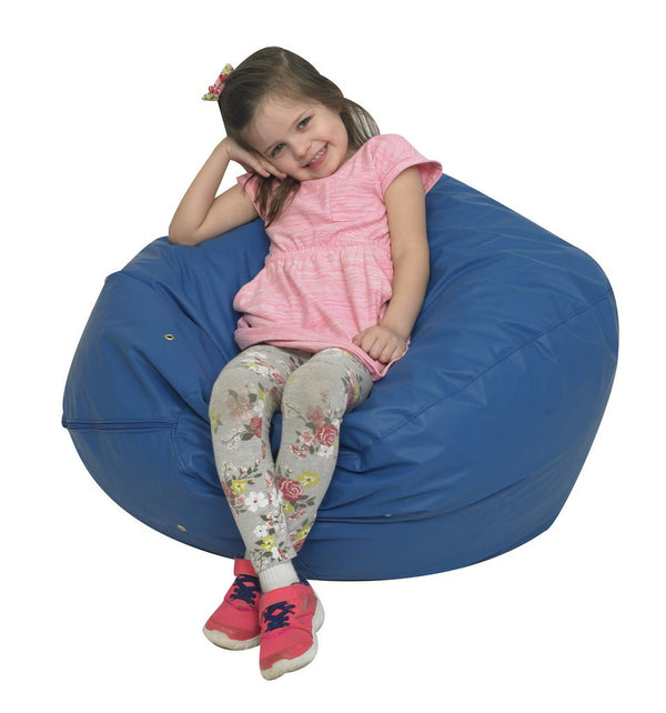"31"" Foam Filled Bean Bag - Blue"