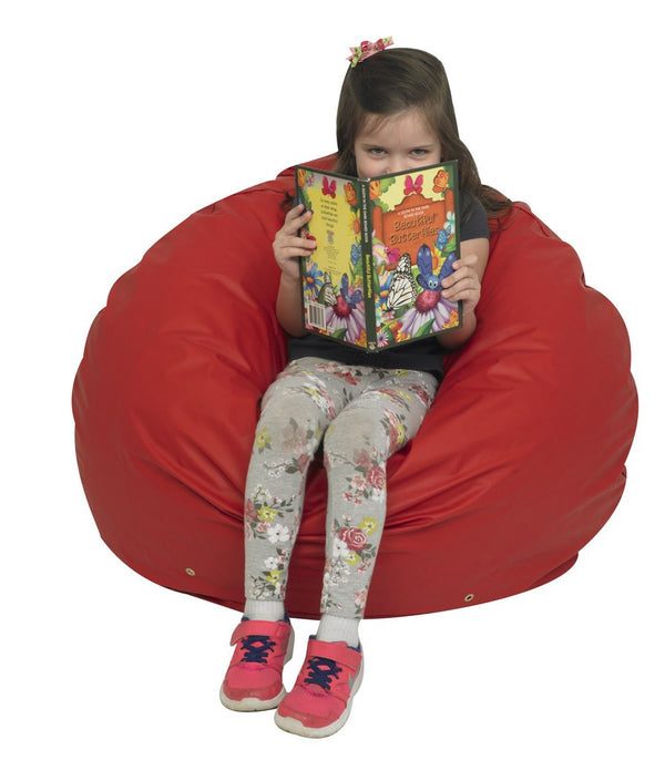 "31"" Foam Filled Bean Bag - Red"