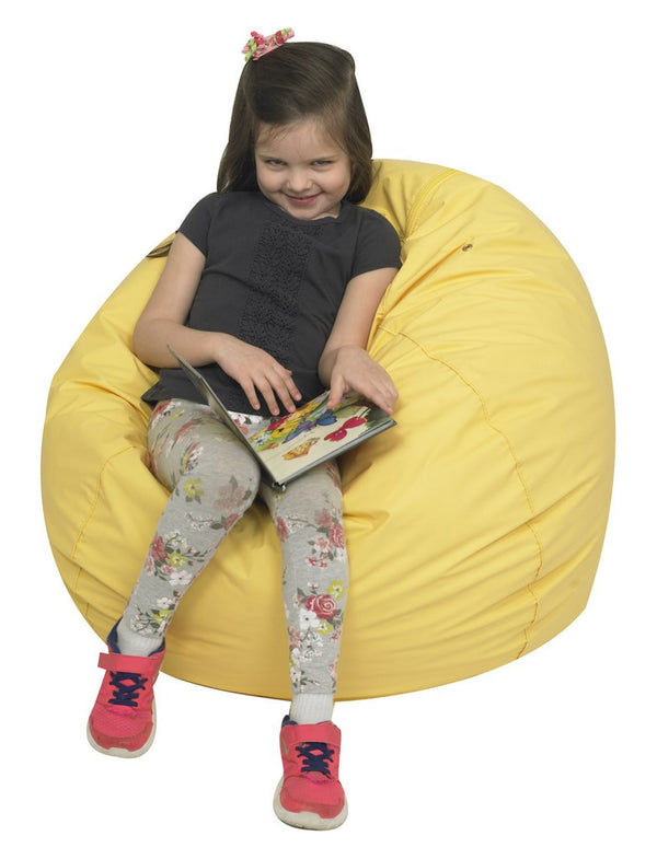 "31"" Foam Filled Bean Bag - Yellow"