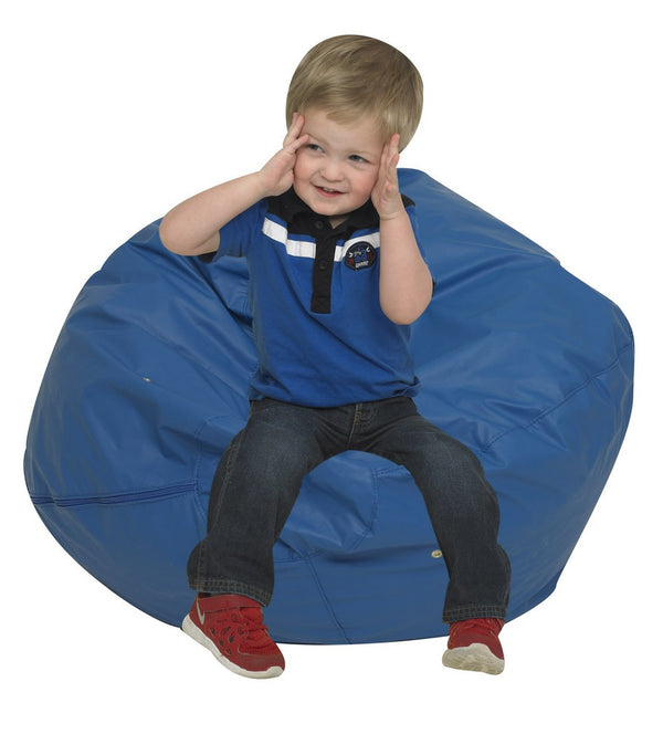 "26"" Foam Filled Bean Bag - Blue"