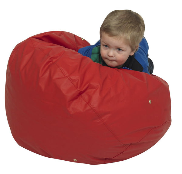 "26"" Foam Filled Bean Bag - Red"