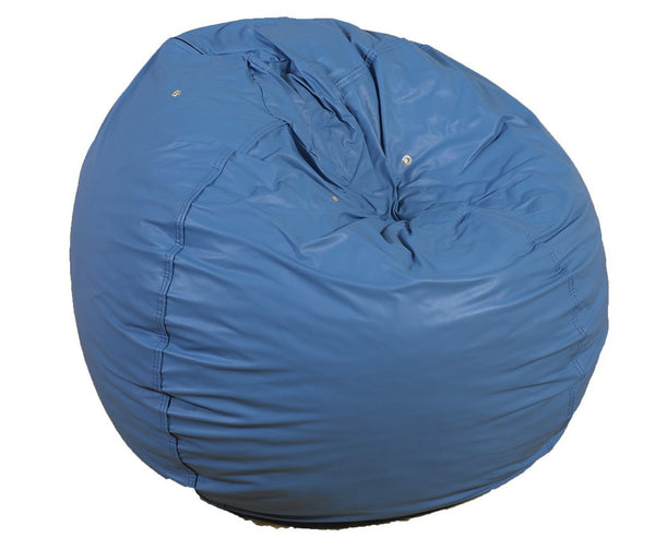 "31"" Foam Filled Bean Bag - Deep Water Blue"