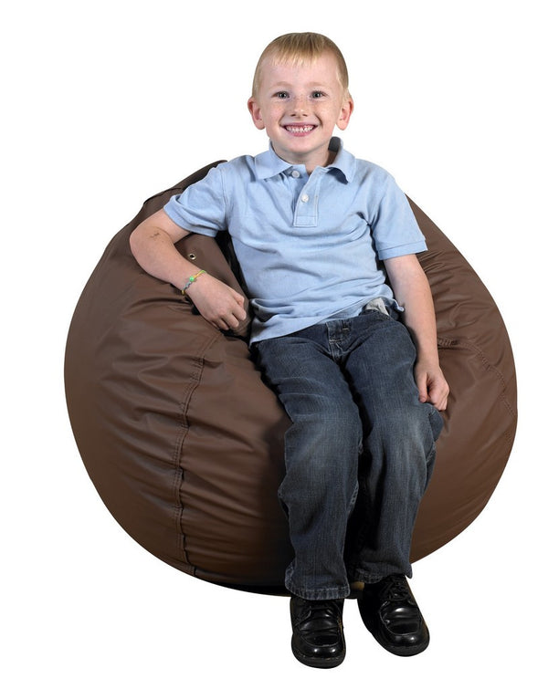 "31"" Foam Filled Bean Bag - Walnut"