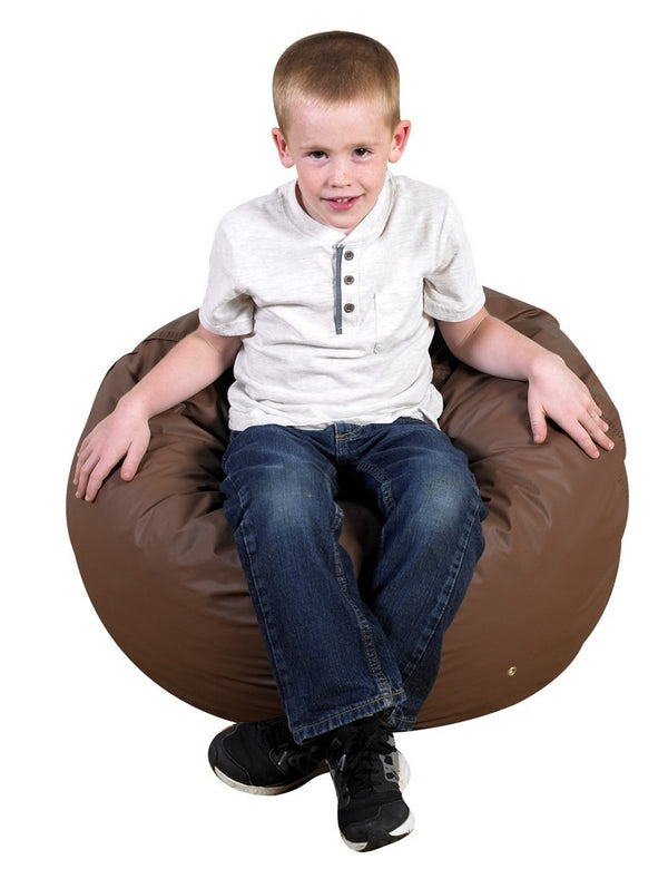 "26"" Foam Filled Bean Bag - Walnut"