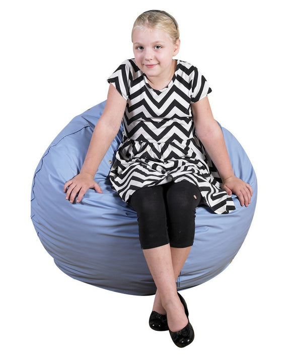 "31"" Foam Filled Bean Bag - Sky Blue"