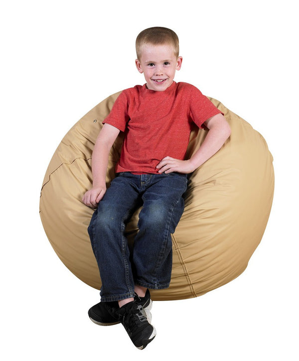 "31"" Foam Filled Bean Bag - Almond"