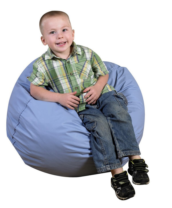 "26"" Foam Filled Bean Bag - Sky Blue"