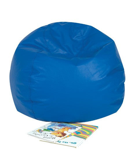 "26"" Round Bean Bag - Blue"