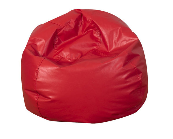 "26"" Round Bean Bag - Red"