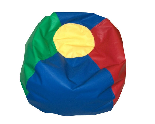 "35"" Round Bean Bag - Rainbow"