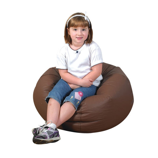 "26"" Round Bean Bag - Walnut"