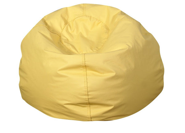 "35"" Round Bean Bag - Yellow"