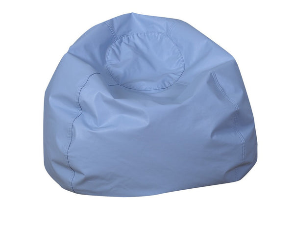 "35"" Round Bean Bag - Sky Blue"