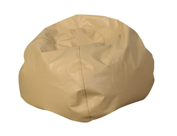"35"" Round Bean Bag - Almond"