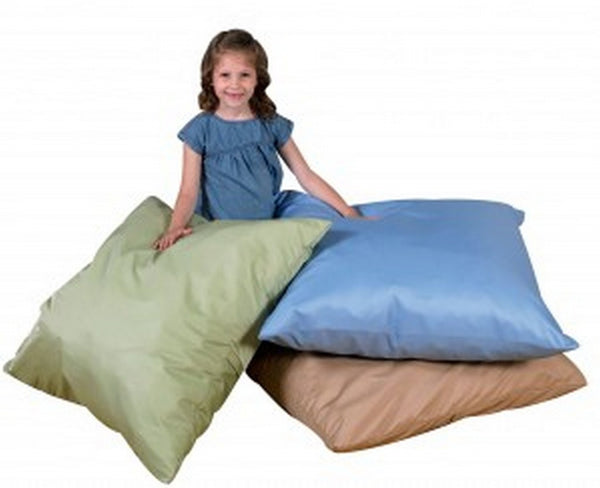 "27"" Cozy Floor Pillows - Light Woodland Set of 3"