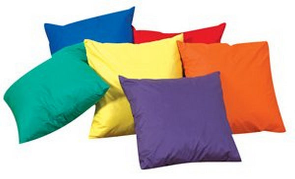 "Children's Factory 17"" Cozy Pillows - Primary Set of 6"