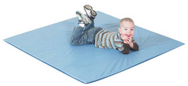 Children's Factory Two Tone Activity Mat - Deep Water/Sky Blue
